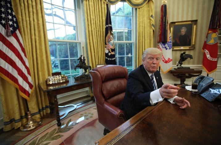 Donald Trump, tổng thống Mỹ, Nhà Trắng, đồ ăn nhanh