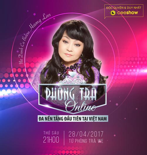 Hương Lan tái ngộ khán giả Việt tại phòng trà online