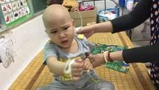Mẹ nghèo đau xót nhìn con sống mỏi mòn với bệnh ung thư