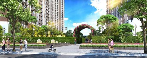 Hòa Bình thi công dự án Imperia Sky Garden