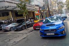 Dàn siêu xe của doanh nhân bất động sản Sài Gòn
