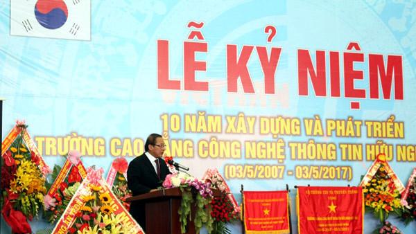 'Trường Hữu nghị Việt–Hàn cần hiện đại hóa đào tạo'