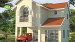 Nhà hai tầng có thiết kế đơn giản mà ai cũng ngước nhìn