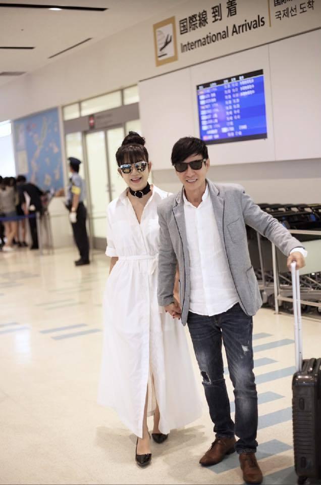 Vợ chồng Lý Hải đi du lịch, hâm nóng tình cảm ở Nhật