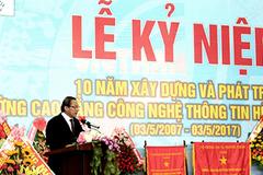 """""""Trường Hữu nghị Việt–Hàn cần hiện đại hóa đào tạo"""""""