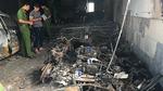 Cháy khách sạn ở Bình Thuận, thiêu rụi nhiều ô tô