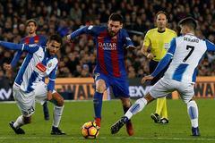 Espanyol vs Barca: Derby của Messi
