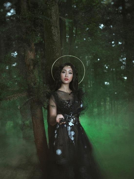 Hình ảnh lạ của Hoa hậu Việt Nam 2016