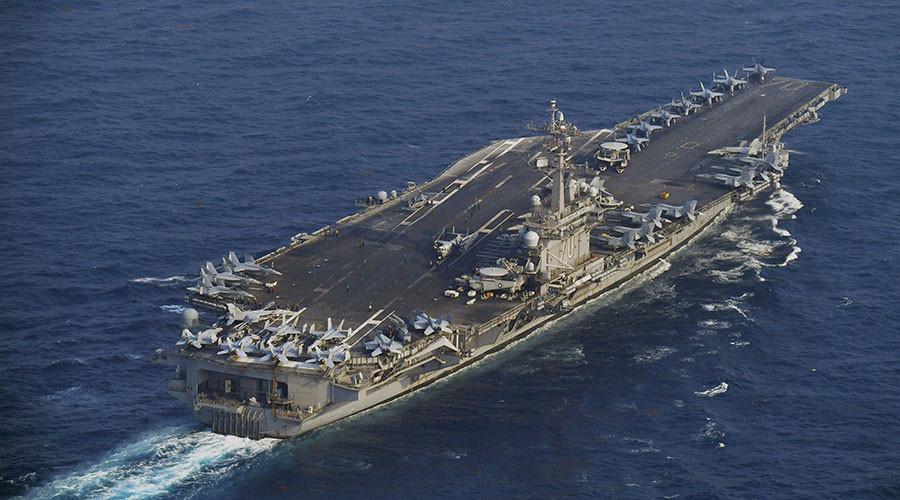 Tàu sân bay hạt nhân, USS Carl Vinson, tập trận chung, Triều Tiên