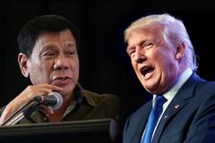 Ông Trump mời Tổng thống Philippines tới Nhà Trắng