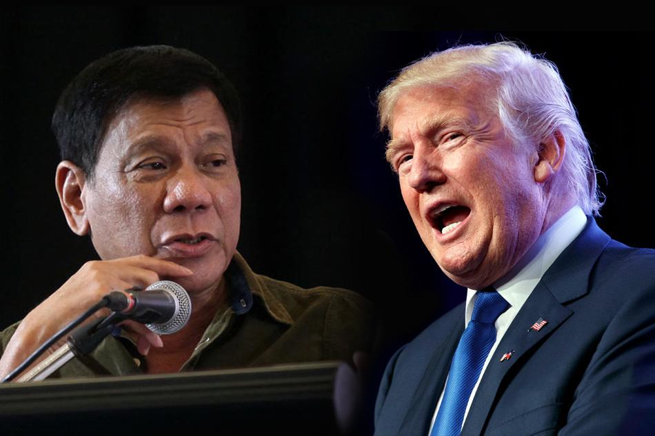 Donald Trump, Tổng thống Mỹ, Tổng thống Philippines, Rodrigo Duterte