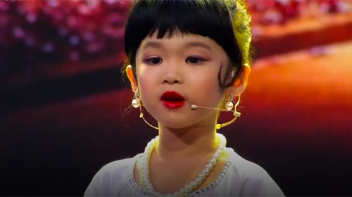 Chung kết Biệt tài tí hon - Phần thi của bé Thái Đại Mộc Quế Anh