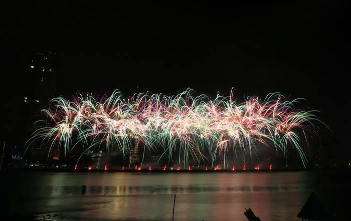 lễ hội pháo hoa Đà Nẵng, pháo hoa Đà Nẵng