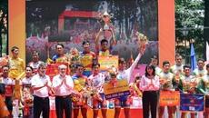 Giải xe đạp cúp TH 2017: Alex Phounsavath bảo vệ thành công áo vàng