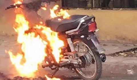 đốt xe