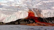 """Giải đáp bí ẩn 100 năm về """"Thác máu"""" ở Nam Cực"""