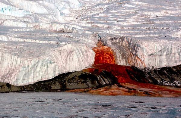 Giải đáp bí ẩn 100 năm về 'Thác máu' ở Nam Cực