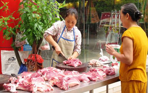 giá thịt lợn giảm mạnh, người chăn nuôi, Bộ NN-PTNT, thịt lợn