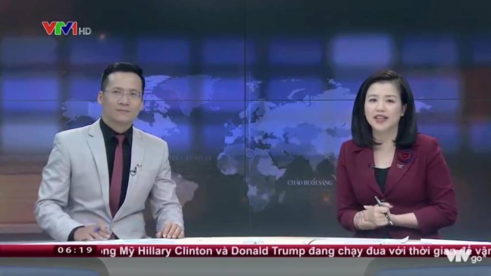 Hình ảnh không có trên truyền hình của BTV xinh đẹp vừa rời VTV