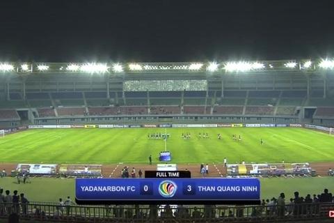 Thắng to ở Myanmar, Than Quảng Ninh ngẩng cao đầu rời AFC Cup