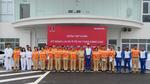 Cảnh sát giao thông học LXAT cùng chuyên gia Nhật Bản