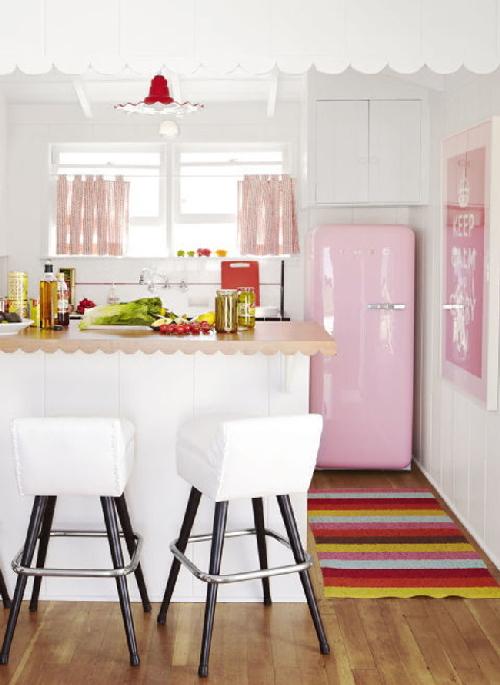 trang trí nhà, nhà đẹp, ngôi nhà màu hồng