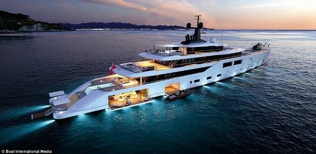 Siêu du thuyền 'trong mơ' mới nhất dành cho tỉ phú