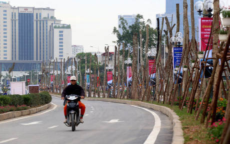 Mục sở thị con đường siêu đắt đỏ ở Hà Nội