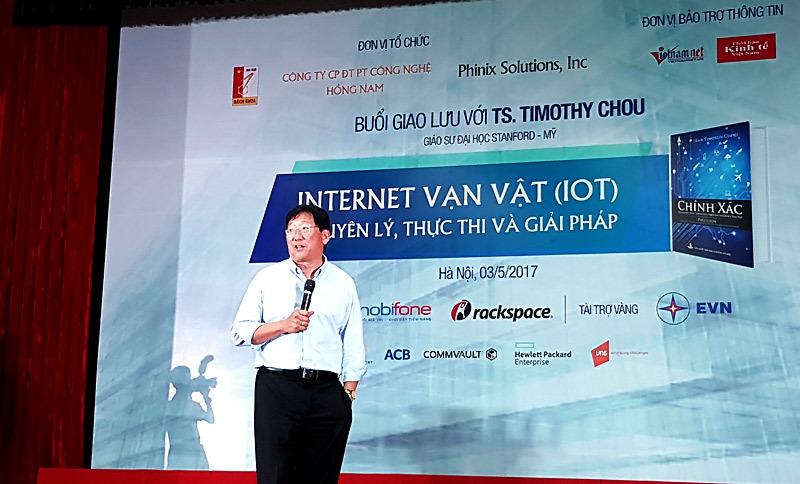 IoT,Timothy Chou,sinh viên Việt Nam,cách mạng 4.0