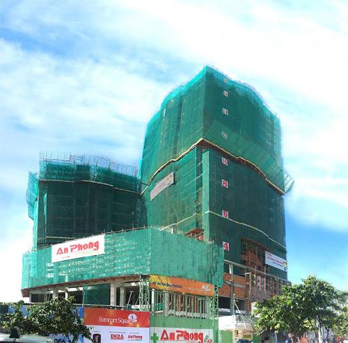 Dự án Summer Square bàn giao mặt bằng xây siêu thị