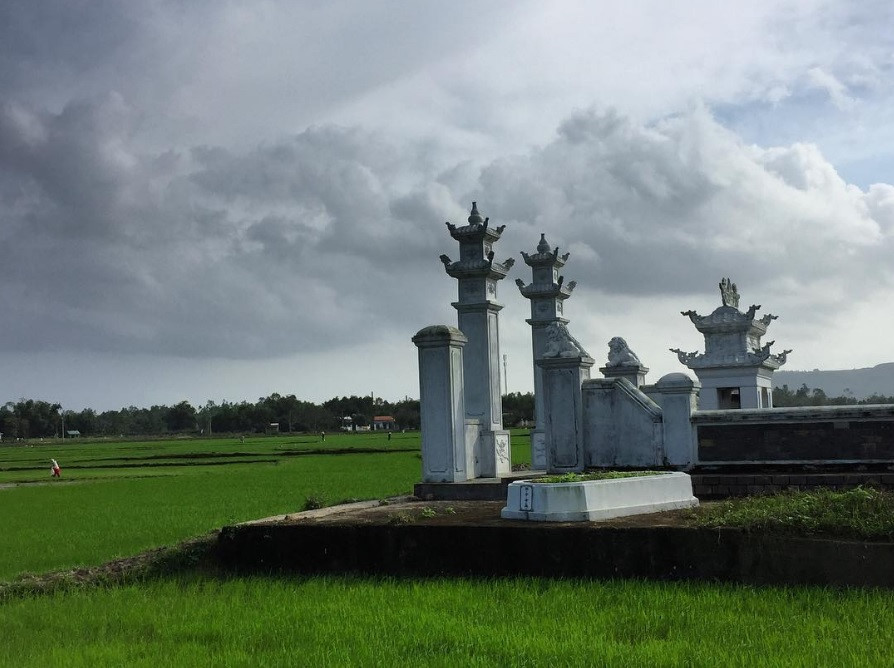 Những ngôi làng đẹp như tranh tại miền Trung