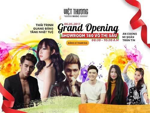 Việt Thương Music khai trương showroom thứ 7