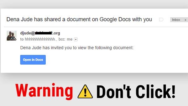 Lừa đảo Google Docs chấn động: Lan truyền chóng mặt và cực kỳ nguy hiểm