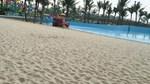 Cảnh đìu hiu tại bãi biển nhân tạo Tuần Châu vừa khai trương đã đóng cửa