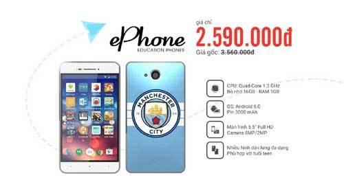 ePhone: smartphone giáo dục, định vị cho trẻ