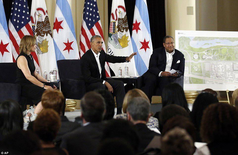 Obama hé lộ tham vọng cực lớn khi rời Nhà Trắng