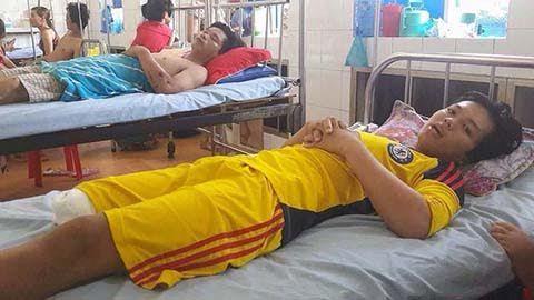 cắt chân oan, đồng tháp, chấn thương chỉnh hình, tháo khớp chân, bệnh viện chợ rẫy