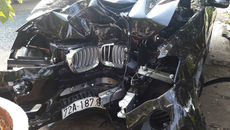 Thời điểm Chủ tịch huyện Côn Đảo lái BMW đâm gốc me tử vong