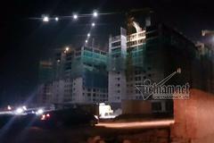 Sập giàn giáo chung cư 16 tầng tại dự án của Mường Thanh