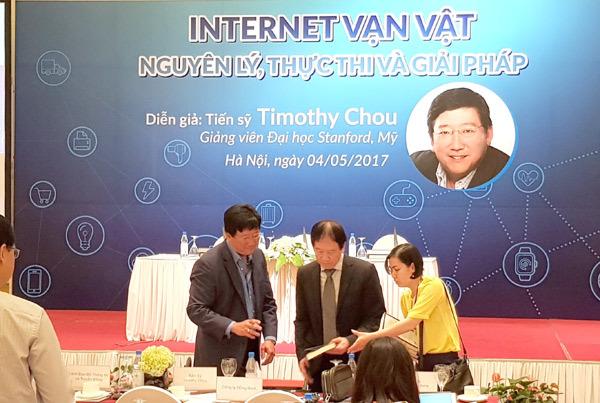 Timothy Chou,IoT,Internet vạn vật,tọa đàm