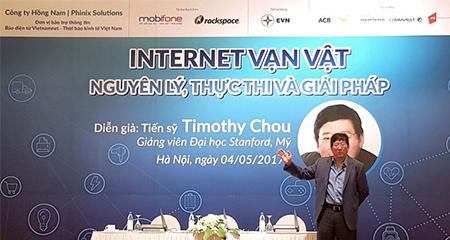 Việt Nam có thể ứng dụng IoT hơn các nước phát triển