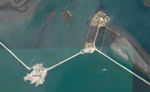 Triều Tiên xây nhiều đảo mới, lắp đặt vũ khí trên biển