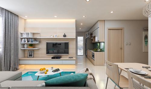 'Bóc' chất lượng căn hộ Xuân Mai Complex
