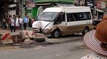 Xe khách gặp nạn nhiều người bị thương