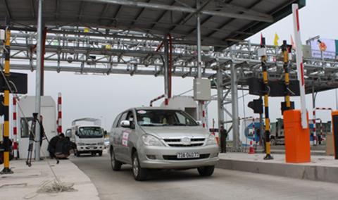 BOT.,Thu phí không dừng, Bộ Giao thông, VETC,  cao tốc Pháp Vân - Cầu Giẽ