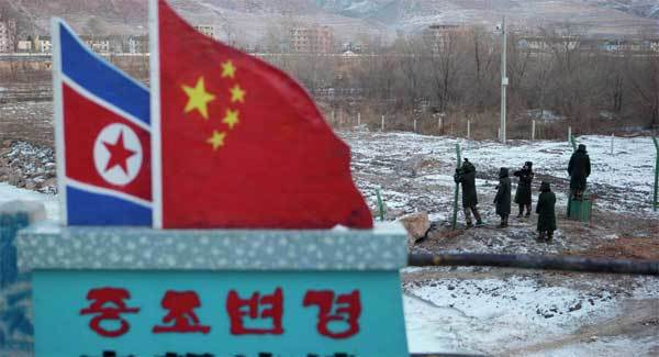 Trung Quốc, tình hình Triều Tiên, Triều Tiên