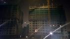 Hà Nội tạm dừng thi công chung cư 16 tầng bị sập giàn giáo