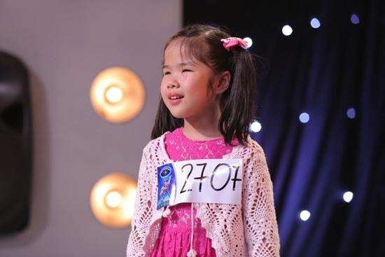 Cô bé khiếm thị gây xúc động hàng triệu khán giả truyền hình