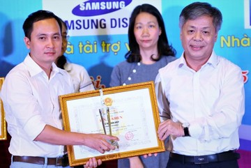 Báo VietNamNet đoạt giải Nhất giải báo chí khoa học công nghệ 2016