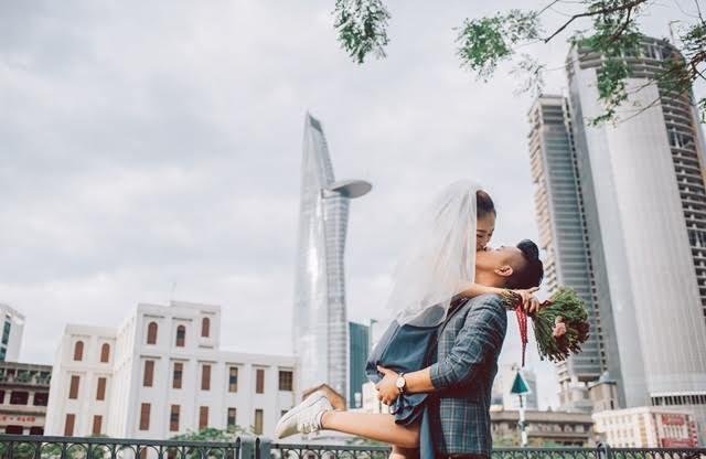 Ảnh cưới đặc biệt của nhiếp ảnh gia Hà thành
